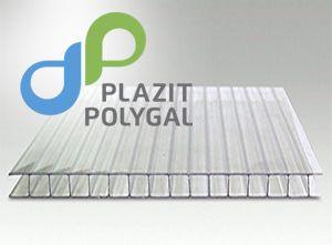 Polygal (Полигаль) - хороший сотовый поликарбонат 4 мм для теплиц с УФ-защитой!